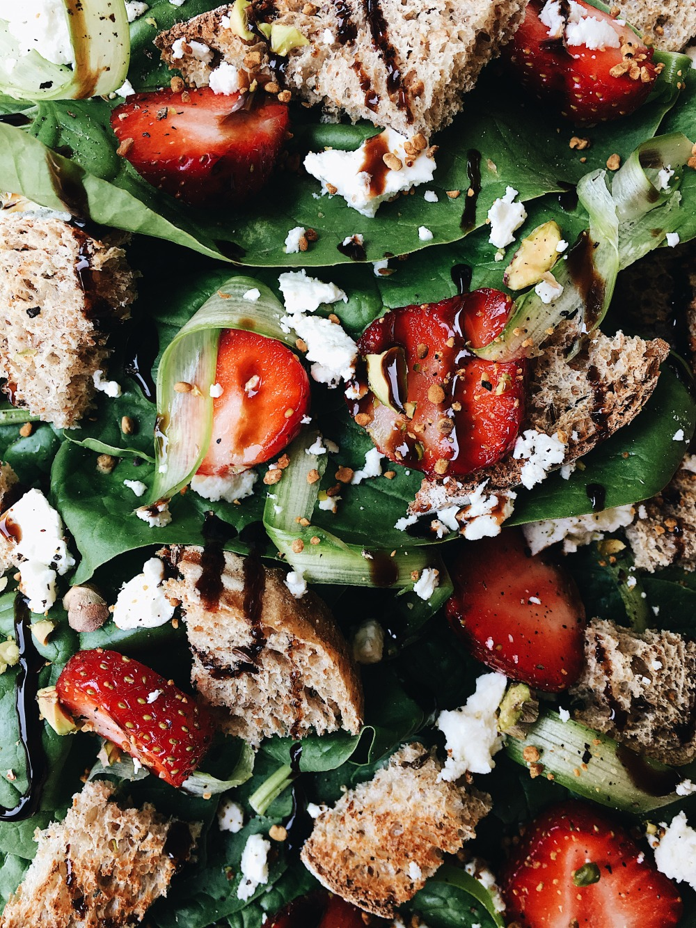 Spinach Salad_Closeup