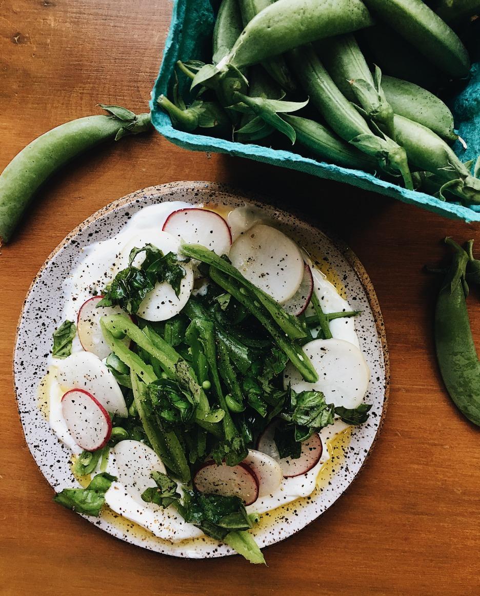 Sugar Snap Pea Salad_Vertical