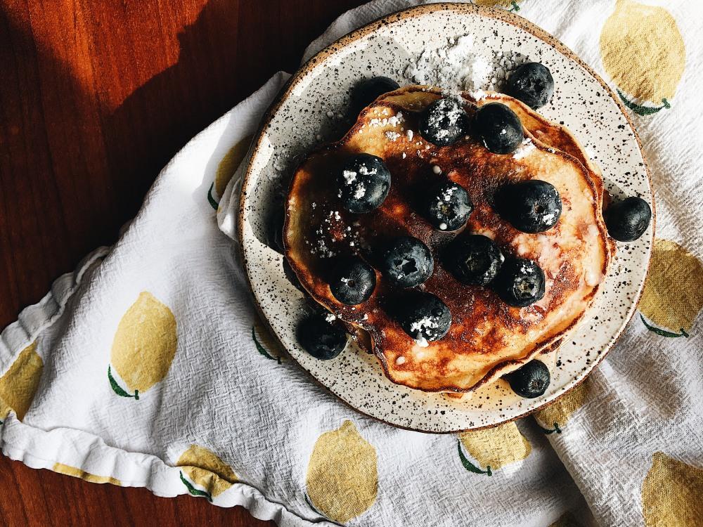 pancakes overhead